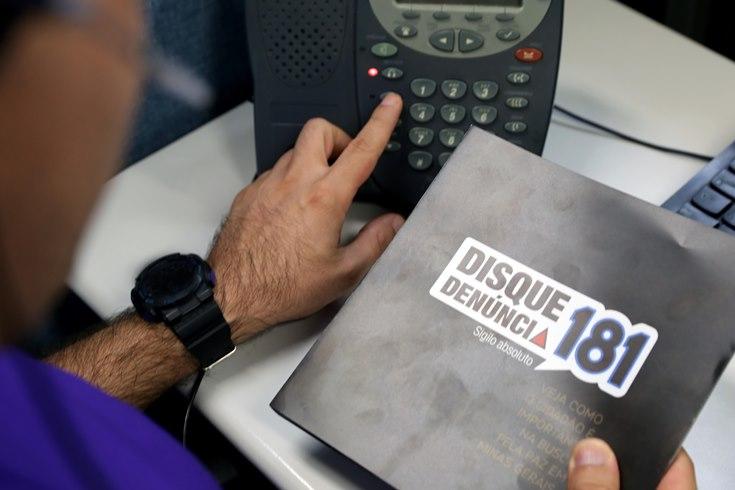 Ligações anônimas para o 181 crescem e denúncias de tráfico de drogas lideram o ranking
