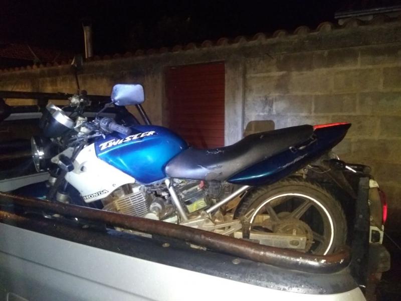 Policia Militar de Barão de Cocais recupera motocicleta furtada em Ouro Preto