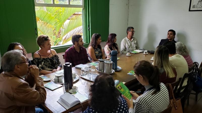 Trade turístico de Catas Altas participa de visita Técnica em Ouro Preto
