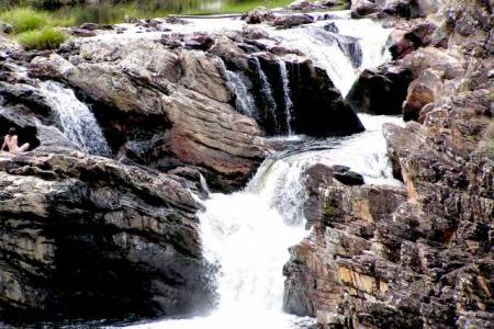 Sereia da cachoeira Boa Vista