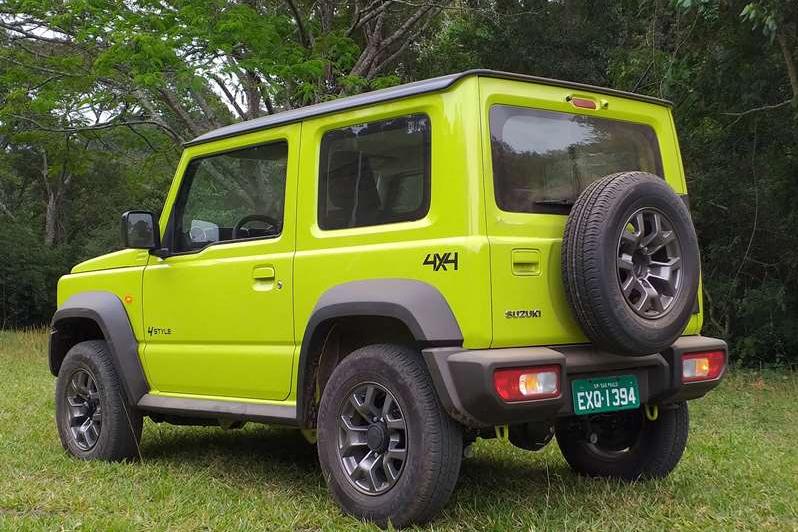 Novo Suzuki Jimny Sierra surpreende em testes