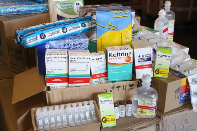 Saúde promove envio de insumos a municípios atingidos pelas chuvas