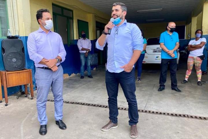 Prefeito de Itabira tem encontro com funcionários e fala em esforço para recuperar a Itaurb