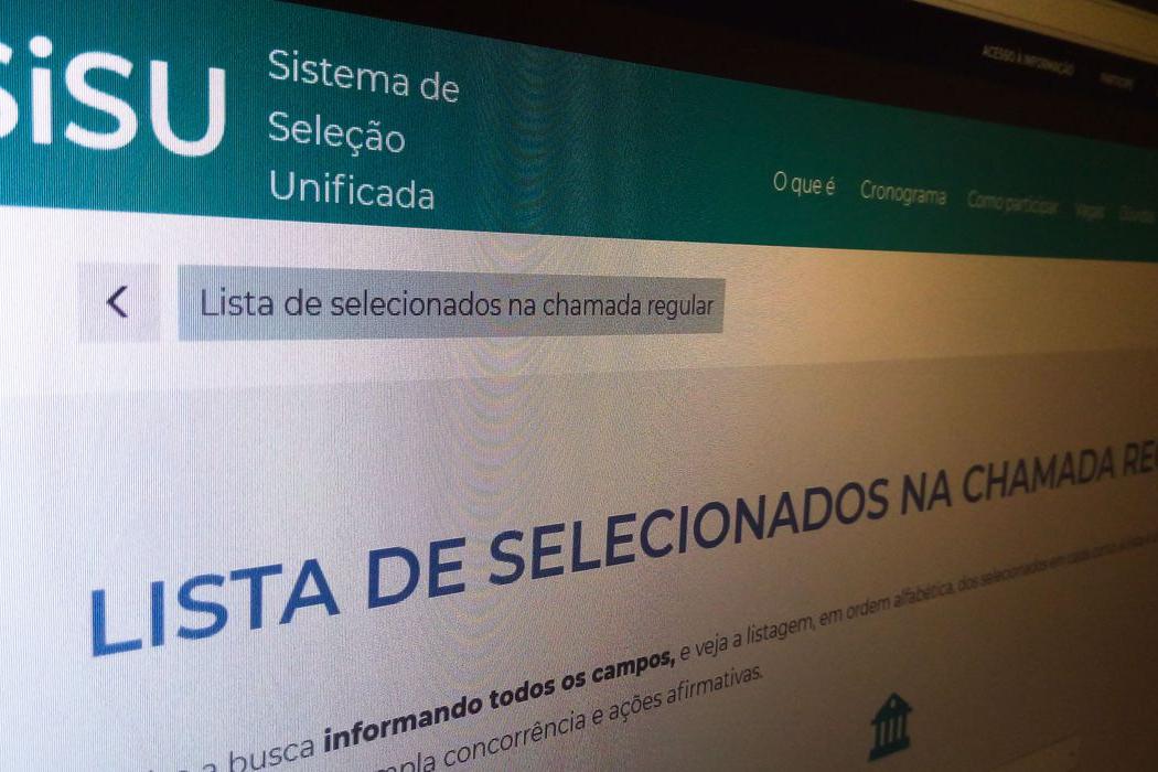 Ministério da Educação divulga hoje resultado do Sisu 2021