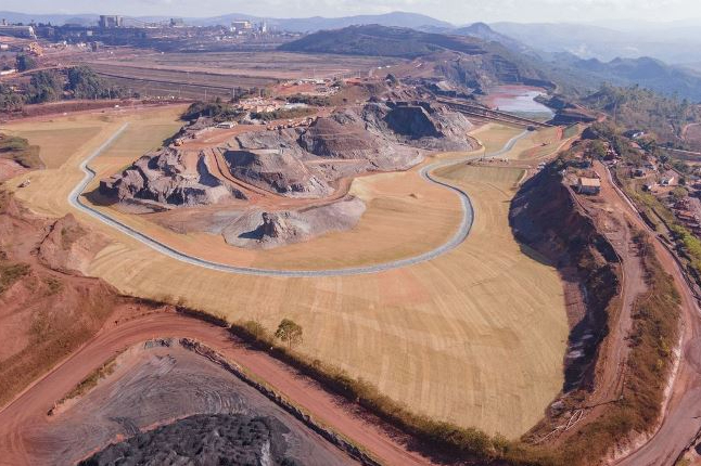 Vale anuncia descaracterização da sexta estrutura de barragem