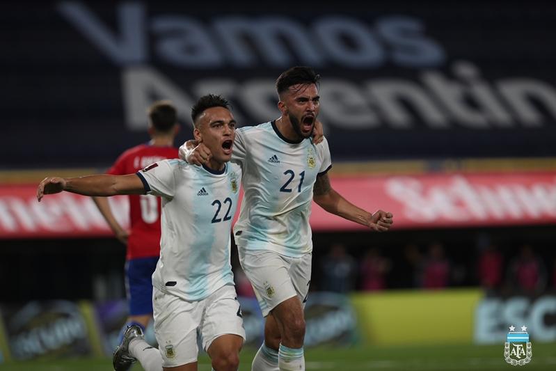 Com gol anulado pelo VAR, Argentina empata com Paraguai