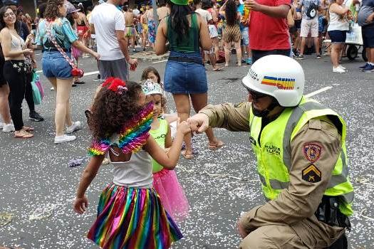 Estado divulga balanço parcial das ações de segurança no Carnaval