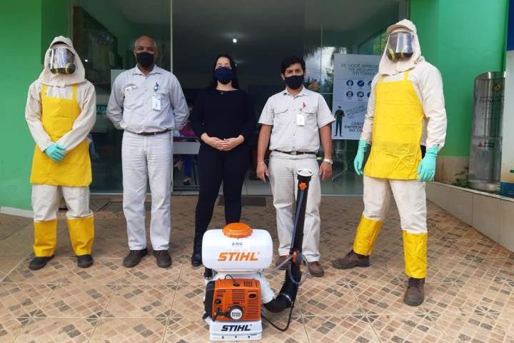 Municípios da região recebem mais pulverizadores doados pela CENIBRA