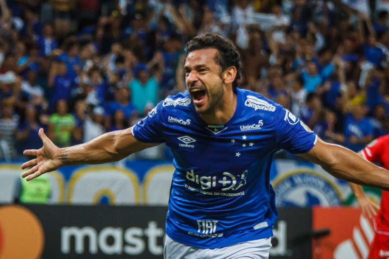 A marca do artilheiro: contra o Inter, Fred, do Cruzeiro, vai completar 700 jogos na carreira