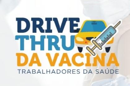 Prefeitura organiza drive-thru para vacinar trabalhadores da saúde em Itabira