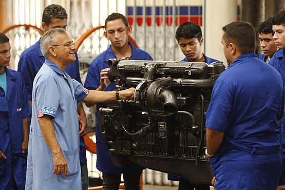 Senai São Gonçalo recebe inscrições para curso técnico em eletromecânica