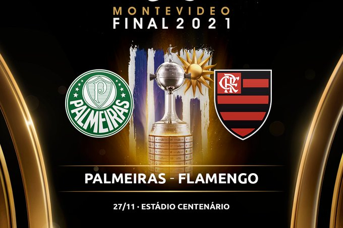 Flamengo e Palmeiras fazem quarta final brasileira da Libertadores