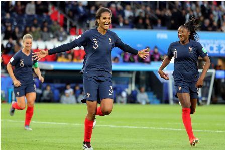 França vence Coreia do Sul na Copa do Mundo de Futebol Feminino