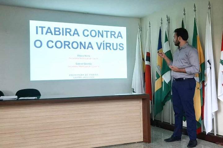 Itabira externa preocupação com impactos regionais da pandemia e demanda ação conjunta na Amepi