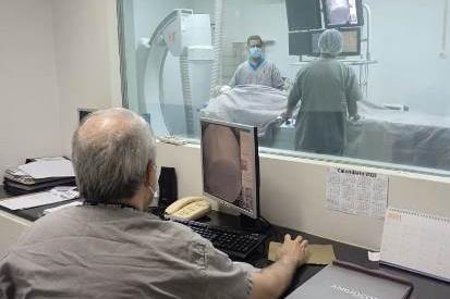 Hemodinâmica do HNSD chega à marca de 4.500 atendimentos