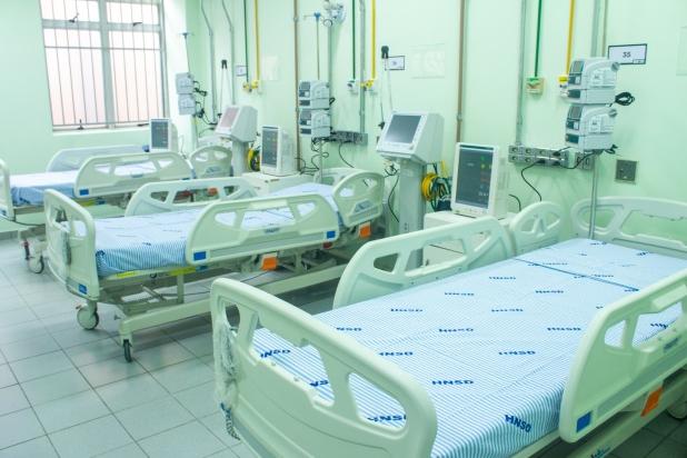 HNSD recebe dez novos leitos de UTI para pacientes com Covid-19