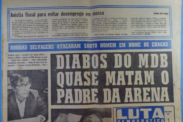 A LUTA DEMOCRÁTICA DE TENÓRIO CAVALCANTI