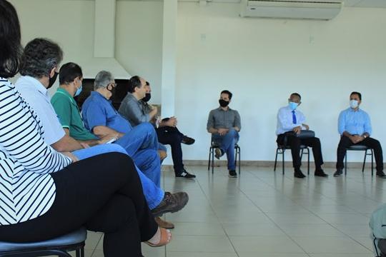 Marco Antônio Lage é recebido na Acita e ressalta missão de trabalhar pela diversificação de Itabira