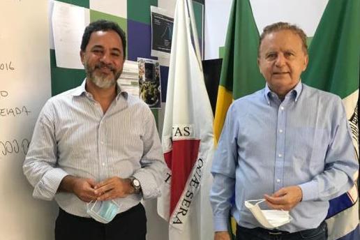 Marco Antônio tem encontro com prefeito Vittorio Medioli em Betim