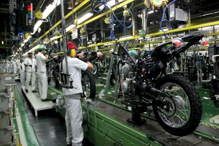 Produção de motocicletas aumenta 8,4% no primeiro semestre