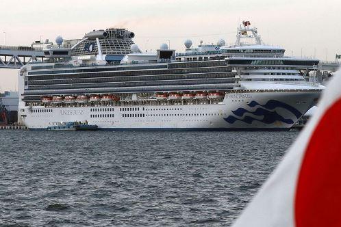 Sobem para 44 novos casos de coronavírus a bordo de cruzeiro no Japão