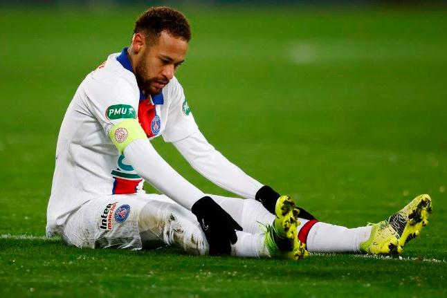 Em recuperação, Neymar desfalca PSG na Copa da França contra Lille