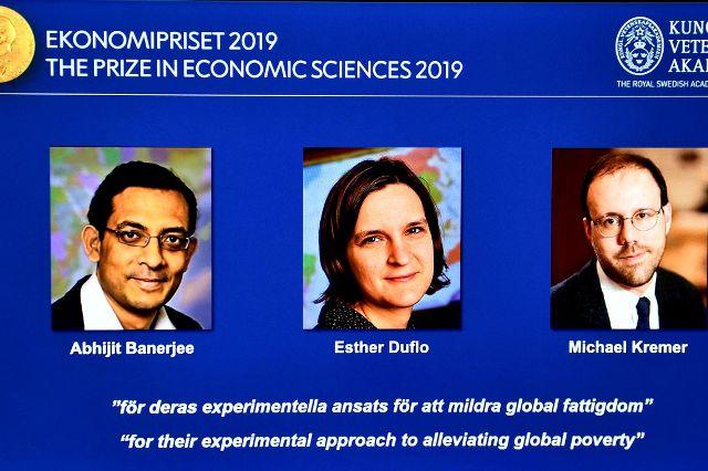 Nobel de Economia premia trio pelo combate à pobreza no mundo