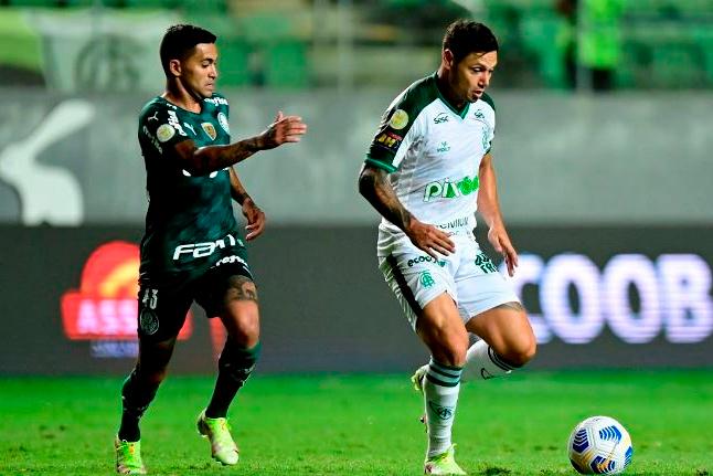 Palmeiras perde para América-MG e cai para terceiro no Brasileiro