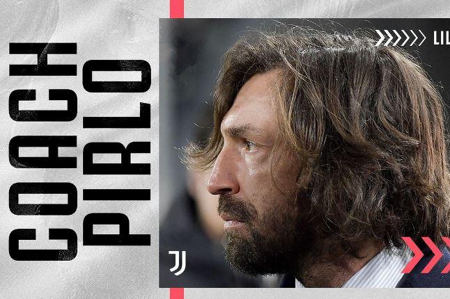 Pirlo volta à Juventus, agora como técnico do time sub-23