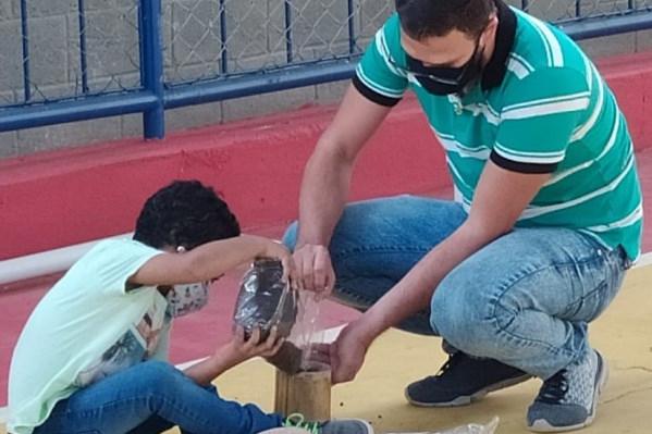 Alunos da rede municipal de Itabira participam de plantio de sementes e criação de vídeo sobre meio ambiente