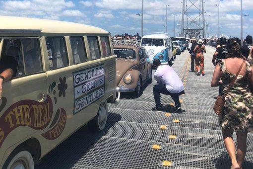 Após quase 30 anos interditada, ponte em Florianópolis é reaberta
