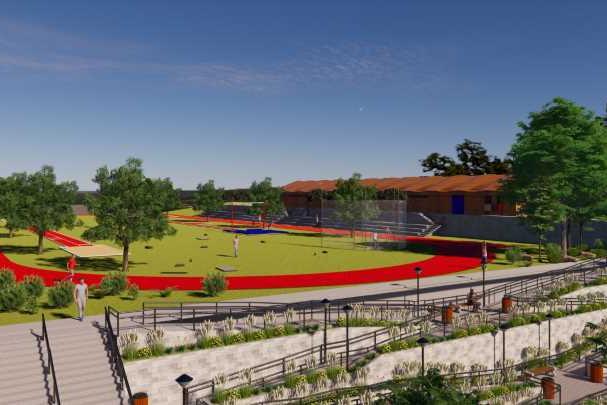 Una Itabira conclui projeto para revitalizar pista de atletismo de uma das escolas mais tradicionais da cidade