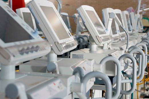 Governo de Minas inicia distribuição e devolução de respiradores recuperados
