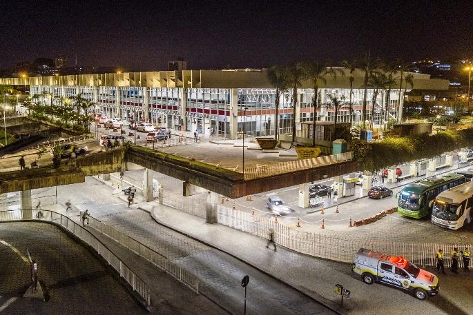 Rodoviária de Belo Horizonte ganha novo sistema de iluminação
