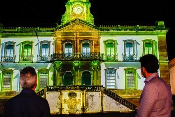 Romeu Zema e ministro Marcelo Álvaro Antônio participam de lançamento do Plano Nacional de Retomada do Turismo, em Ouro Preto