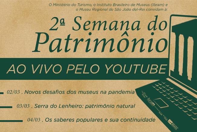 Museu Regional de São João del-Rei realiza 2ª Semana do Patrimônio