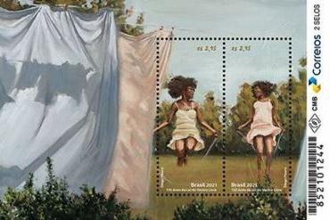 Correios lançam selos que lembram 150 anos da Lei do Ventre Livre