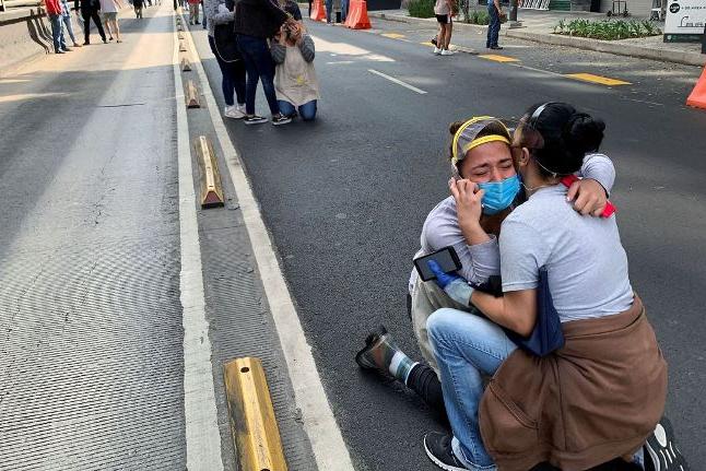 Terremoto atinge região central da Cidade do México
